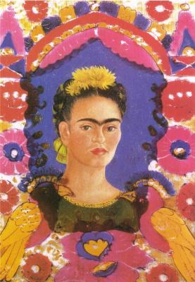 Frida Kahlo. Self Portrait - The Frame