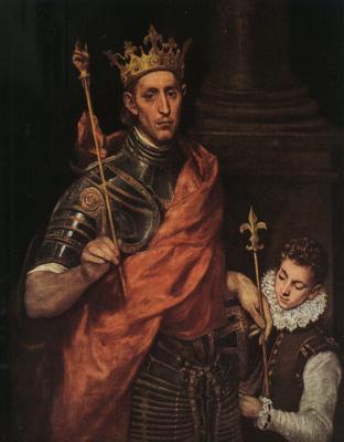 Domenico Theotokopoulos (El Greco). The Holy king