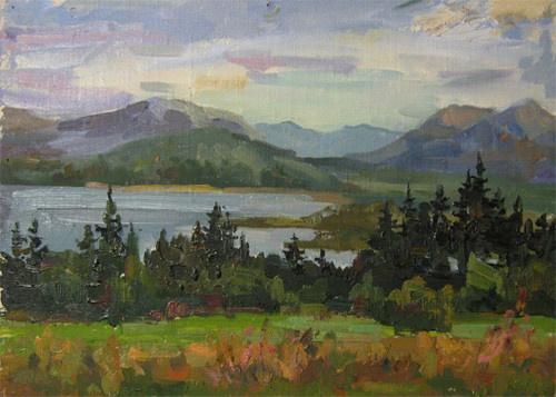 Svetlana Holodnyak. Gloomy North