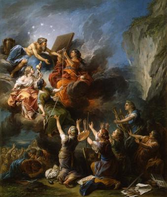 Шарль Андре ван Лоо. Искусства молящие