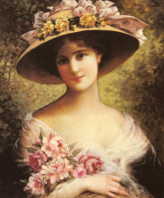 Emile Vernon. Unusual lady