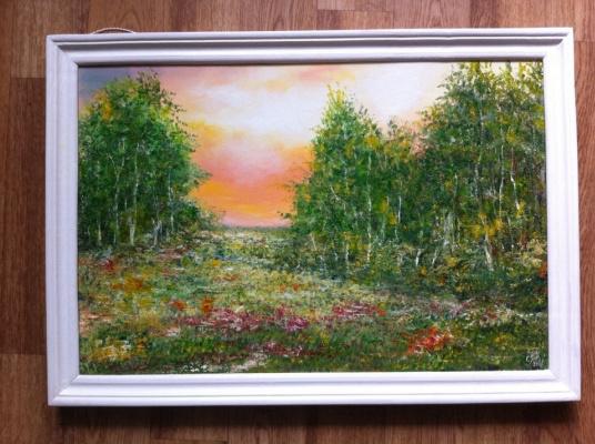 Galina Nikolaevna Silina. ,,Sunny day,