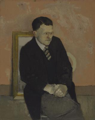 David Hockney. Portrait of my father