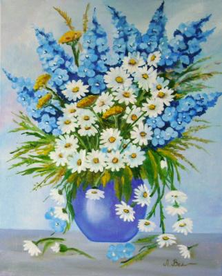 Любовь Викторовна Волобаева. Summer bouquet