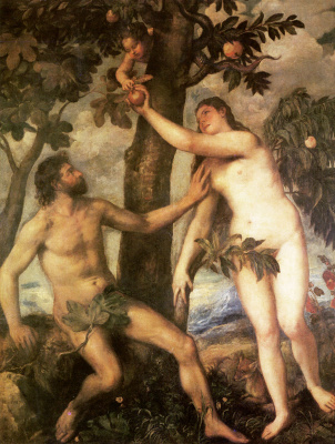 Titian Vecelli. The fall