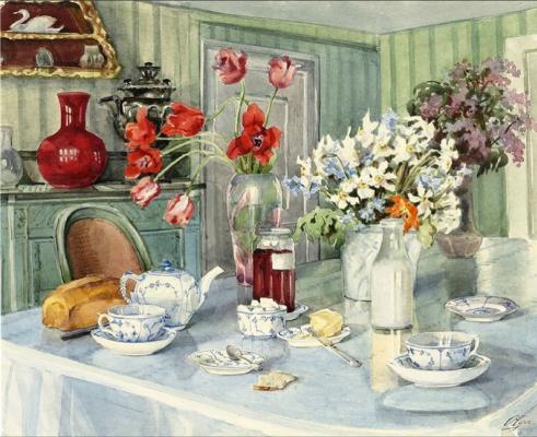 Olga Alexandrovna Romanova. Still life