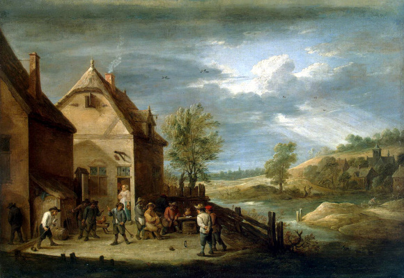 David Teniers the Younger. Ball Peasants