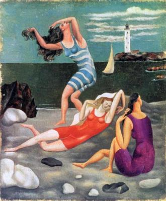 Пабло Пикассо. Купальщицы