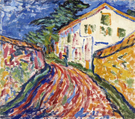 Erich Heckel. The white house