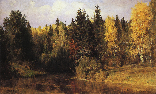 Vasily Dmitrievich Polenov. Autumn in Abramtsevo