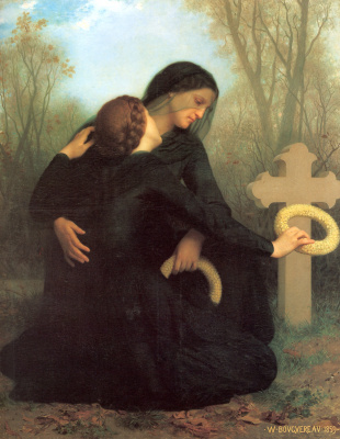 William-Adolphe Bouguereau. The day of the dead
