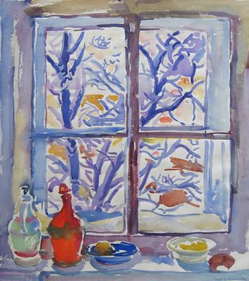 Evgenia Petrovna Antipova. Window.