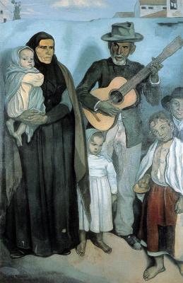 Эмиль Бернар. Испанские эмигранты