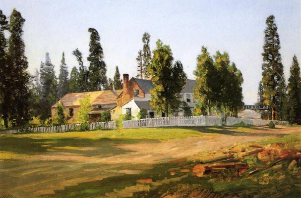 Thomas Hill. House