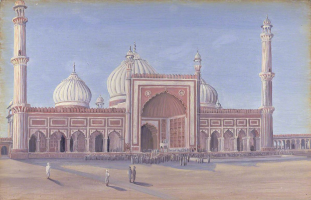 Marianna North. Great Mosque of Delhi, India