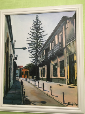 Julia Merkushina. Street in Limassol