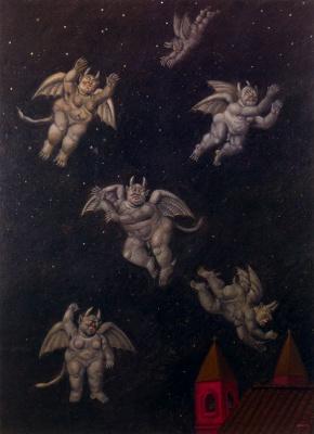 Fernando Botero. Demons