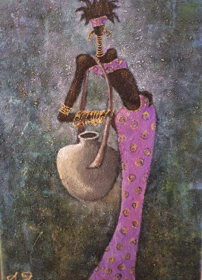 Lina Obolenska. Masai Series