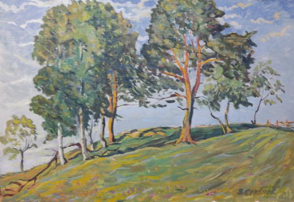 "Valery Sergeevich Semenov. Ferrapontovo ""Pines on the slope"""