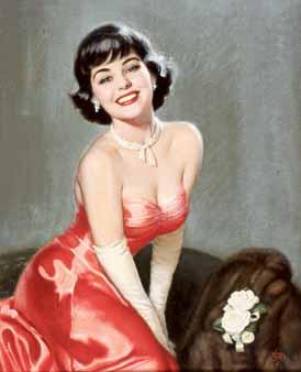 Уолт Отто. Красное платье