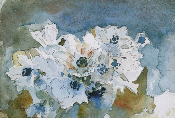Mikhail Vrubel. Flowers