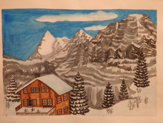 Irina. Alps