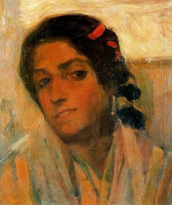 Мария Гутьеррес Бланшар. Портрет 1