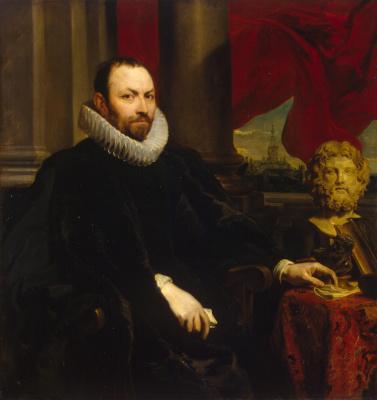 Anthony van Dyck. Portrait Of Nicolas Recoxa