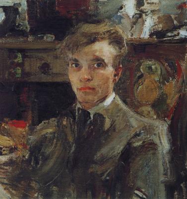 Nikolay Feshin. Self-portrait