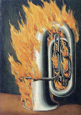René Magritte. The discovery of fire II
