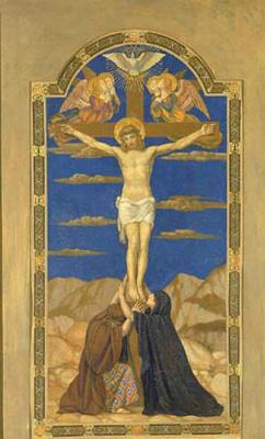 Генри Сиддонс Моубри. Распятие на кресте