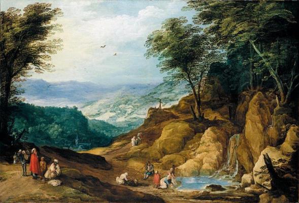 Йоос де Момпер. Горный пейзаж