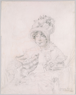 Jean Auguste Dominique Ingres. Lady Glenbervie