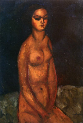 Amedeo Modigliani. Seated Nude