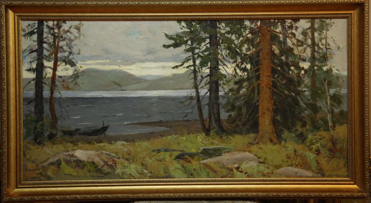 Борис Александрович Булкин. Берег Белого моря
