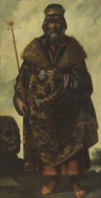 Франсиско де Сурбаран. Иуда из серии «Иаков и его двенадцать сыновей»