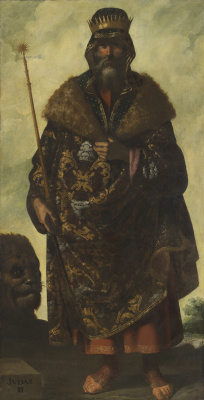 "Francisco de Zurbaran. Judas from the series ""Jacob and his twelve sons"""