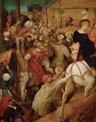 Peter Brueghel The Younger. The Feast Of St. Martin