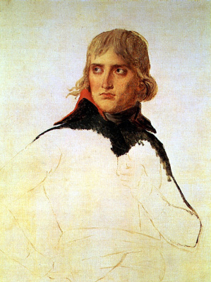 Jacques-Louis David. General Bonaparte, sketch