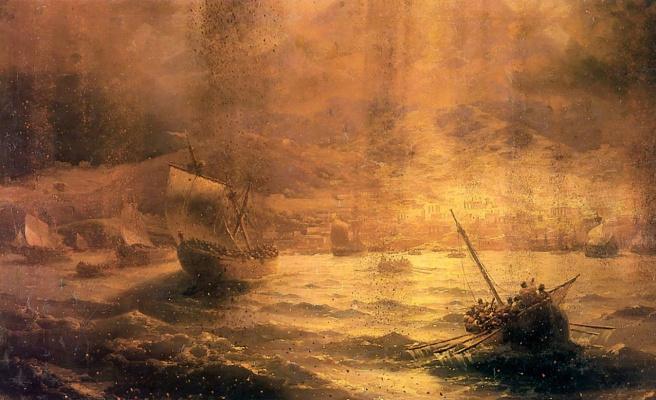 Ivan Aivazovsky. Pompeii