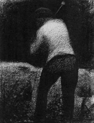 Georges Seurat. The breaker of stones