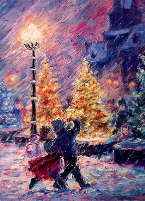 Елена Хомоутова. Снежный танец