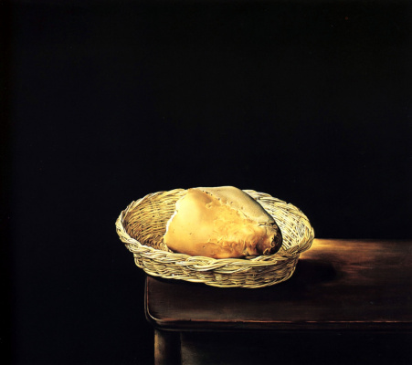 Salvador Dali. The basket of bread