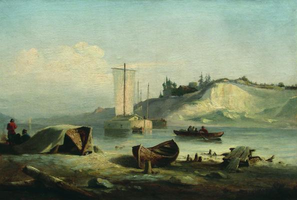 Lev Feliksovich Lagorio. The river