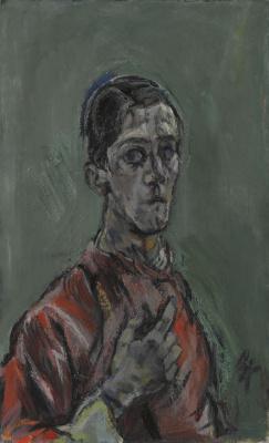 Oskar Kokoschka. Self-portrait