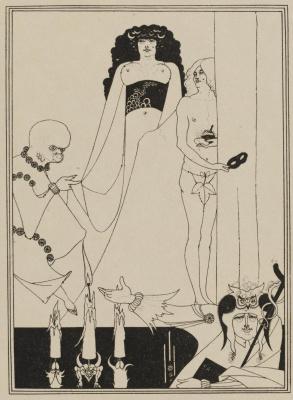 Aubrey Beardsley. Enter Herodias