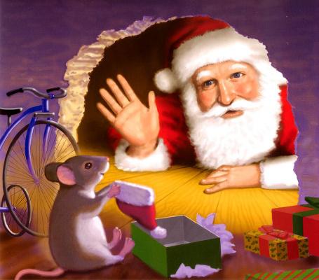 Майкл Гарленд. Мышь перед Рождеством 17