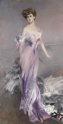 Giovanni Boldini. Portrait of Mrs. Howard Johnston