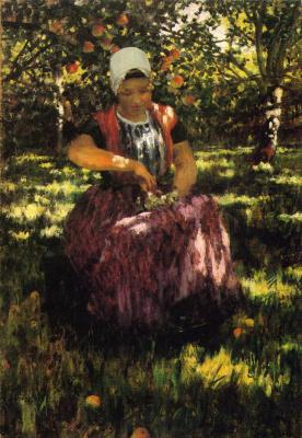Джордж Хичкок. В саду