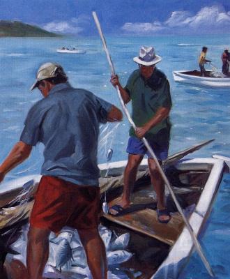 Альдо Болдинг. Мавританские рыбаки